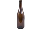 Beer Bottles - 750mL Amber Champagne/Belgian Style (Case of 12)