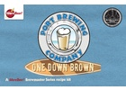 Pizza Ports One Down Brown Ale - All Grain Beer Brewing Kit (5 Gallons)