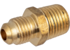 Brass Flare Fitting - 1/4 in. Flare x 1/4 in. MPT