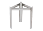 Stainless Steel Support Stand for 20L & 35L Bucha Tank