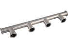 ForgeFit® Stainless Tri-Clamp 4-Position Manifold - 1.5 in.