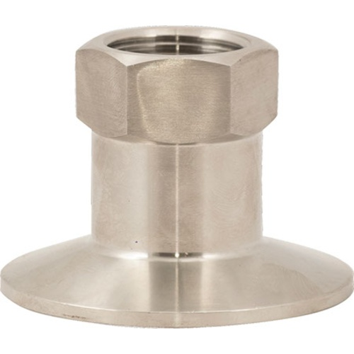 Stainless Tri-Clamp - 3/4 in. FPT x 2 in. T.C.