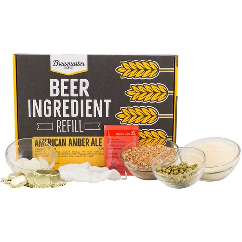 American Amber Beer Brewing Kit (1 gallon)