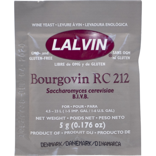 Dry Wine Yeast - RC 212 (5 g)