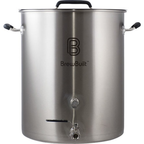 A Stainless Steel Brewing Kettle