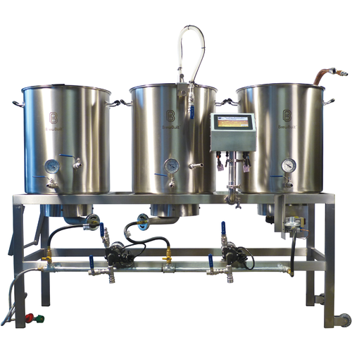 A complete all-grain brewing system
