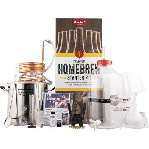 Premium Home Brewing Kit!