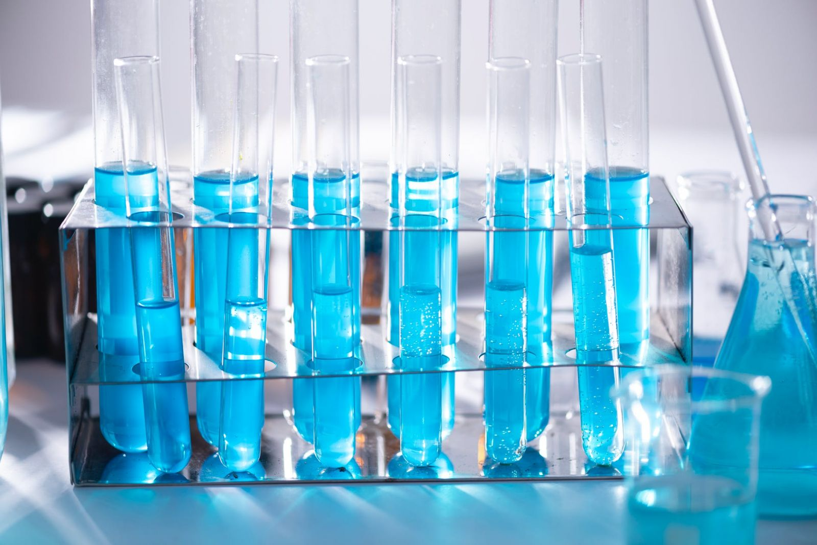Test tubes for sensory analysis