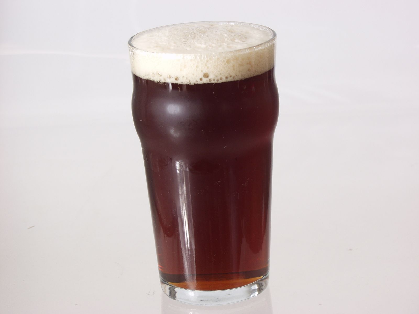 A fresh pour of a Bavarian Dunkel