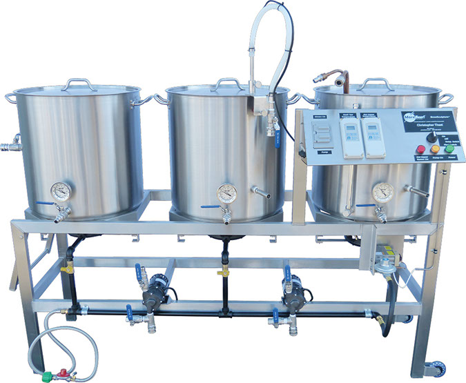 An electric brewery system