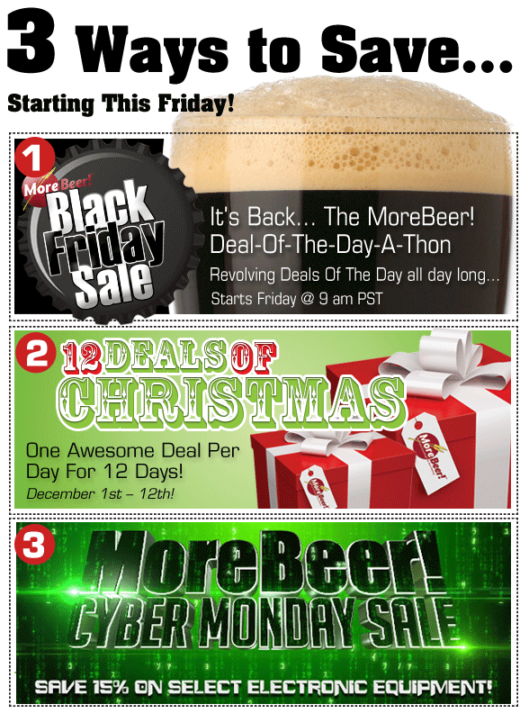 Looking For Some Great Homebrew Deals This Holiday Season